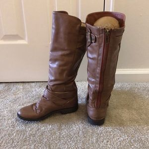 Size 6.5 madden girl brown boots